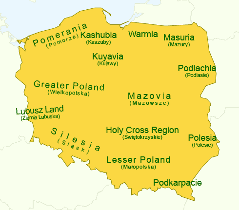 Tämän kuvan alt-attribuutti on tyhjä; Tiedoston nimi on regions_of_poland-1.png